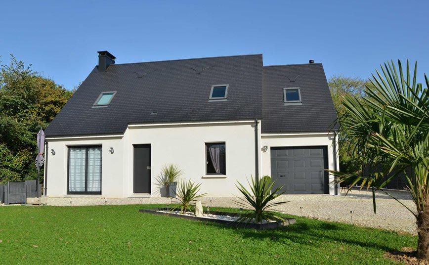 Les maisons fautrat constructeur maison cotentin manche for Assurance pendant construction maison