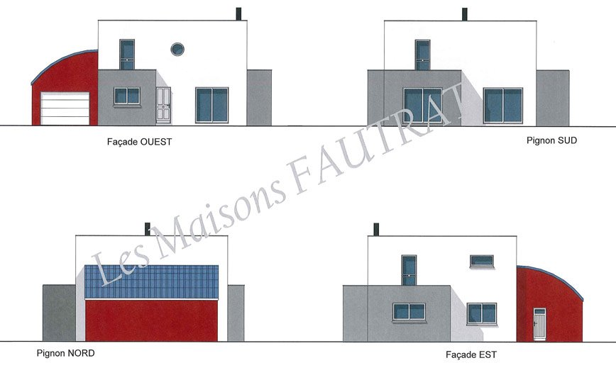 elevation maison design