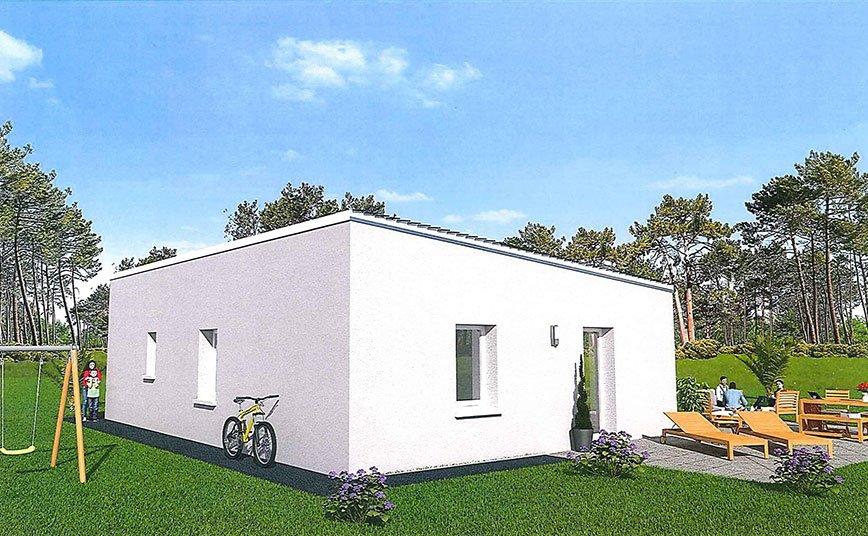 maison design plain-pied 3 chambres