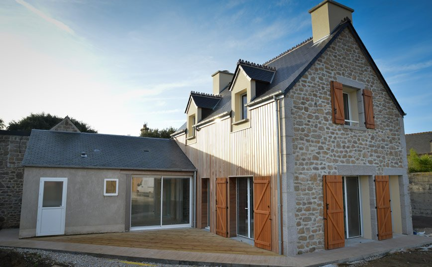 Maison Pierre Bois - Les Maisons Fautrat constructeur maison Cotentin Manche