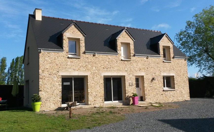 Les maisons fautrat constructeur maison cotentin manche for Constructeur maison pierre