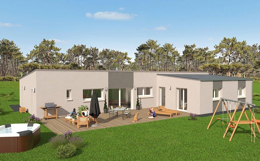 grande maison design plain pied 200 m2