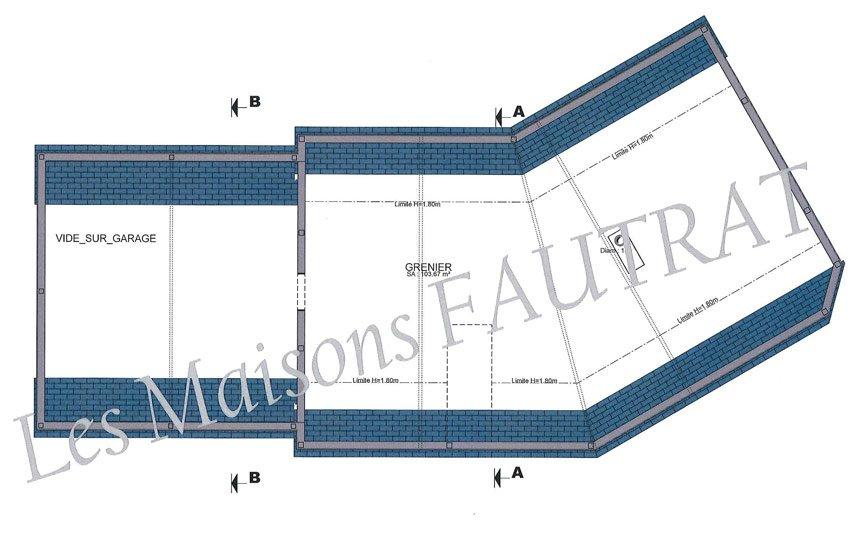 construction maison bricquebec de m sur terrain de 1000 m manche 50. Black Bedroom Furniture Sets. Home Design Ideas
