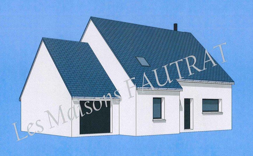 Projet de construction maison 120 m maison tage manche 50 for Projet de construction maison