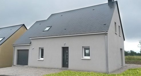 Mod les de maisons individuelles construites dans la manche for Liste construction maison